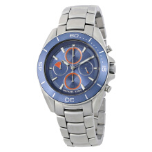 Michael Kors Jetmaster Chronograph Blue Dial Stainless Steel [MK8484]