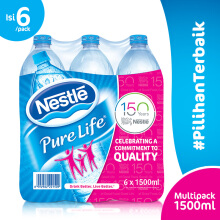 NESTLE Pure Life Mineral Water 1500ml x 6pcs