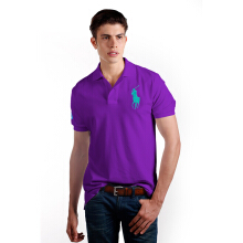 POLO RALPH LAUREN - Lacoste Mesh Polo Shirt Paloma Purple Men