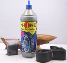Cairan Ban Anti Ranjau / Paku + manset M-One 800 ml u/ velg ring 18