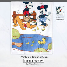 Little Terry Baby Towel by Little Palmerhaus - Mickey & Friends Classic