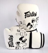 FAIRTEX Boxing Gloves BGV14 White Street Art