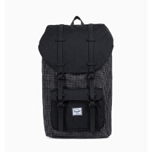 HERSCHEL Little America Backpack 10014-01579-OS (25L) - Black Grid