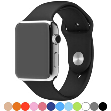 PEKY 38mm/42mm Watchband for Apple Watch Silicone Sport Band