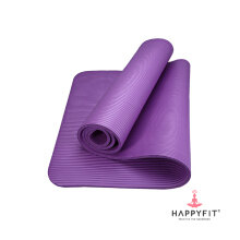Happyfit NBR Exercise Mat - 10mm - Purple