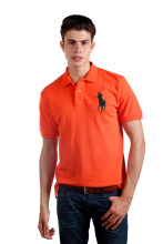 POLO RALPH LAUREN - Lacoste Mesh Polo Shirt Bittersweet Orange Men