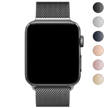 Jantens 42mm/38mm Watch band for Apple Watch Milanese Loop Stainless Steel Bracelet