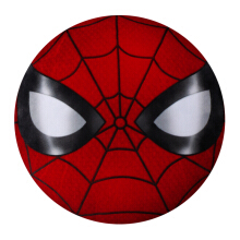 MARVEL Avengers Spiderman Round Cushion 37cm - Red/Black
