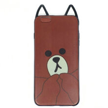 Softcase Brownie Cat Iphone 6 Plus / Iphone 6S Plus