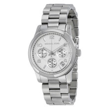 Michael Kors Runway Chronograph Silver Dial Stainless Bracelet Watch [MK5076]