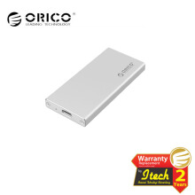 ORICO MSA-UC3 Aluminum mSATA to USB 3.0 SSD Enclosure Adapter Case - Silver