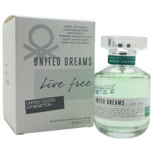 Benetton United Dreams Live Free For Her (Tester) 80 ML