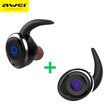 OAC-AWEI T1 TWS Bluetooth Earphone Mini Bluetooth V4.2 Headset Double Wireless Earbuds Cordless Headphones Kulakl k Casque