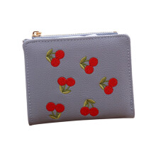 BESSKY Women Embroidery Short Wallet Coin Purse Card Holders Handbag_