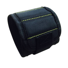 BESSKY 3 Magnetic Wristband Pocket Tool Belt Pouch Bag Screws Holding Working Helper _ Black