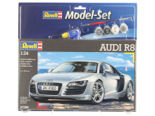 REVELL Model Set Audi R8 - Plastic Model - Multicolor