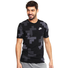 NIKE As M Nsw Tee Fw Print Ho 1 - White/Black/Anthracite