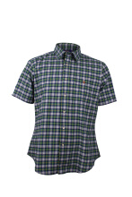 POLO RALPH LAUREN - Shirt Custom Fit Navy-Green Men - PX2200003