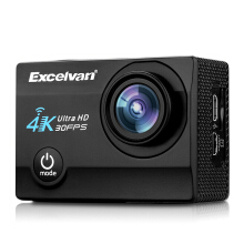 Excelvan Q8 2.0 inch WiFi Waterproof Wide Lens Action DV Sports Camera Black