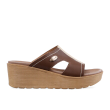 CARVIL Sandal Wanita Casual Sandal Future-01 L Brown