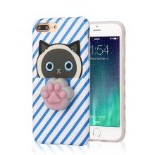 BESSKY Squishy 3D Cute Animal Seal Soft TPU Gel Case Cover For iPhone7 Plus 5.5inch_