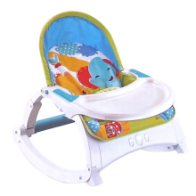 [free ongkir]Right Starts 3in1 Music Portable Rocker - Motif C