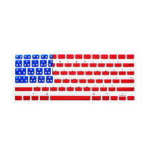 BESSKY Silicone Rubber Keyboard Skin for Macbook & Macbook Pro 13/15/17 inch  Australian Flag _ Multicolor