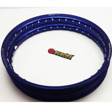SCARLET RACING -Velg motor -uki 17-140/160 type WM shape blue Others