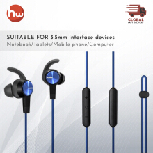 Huawei Bluetooth Headset Sport Waterproof Blue