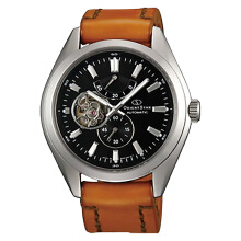Orient Star Automatic Black dial Brown Leather Strap [SDK02001B]