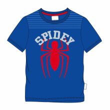 MARVEL Spider-Man Spidey T-Shirt for Kids N077 – Blue