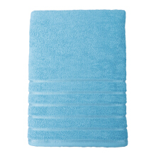 JOYHOME Solid Dobby Towel 70 cm x 135 cm/360 gr/m2 - Light Blue