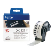 BROTHER Label Tape DK-22211 Continuous Length Film White Tape 29mm