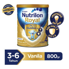 NUTRILON Royal 4 Susu Vanilla Tin - 800gr
