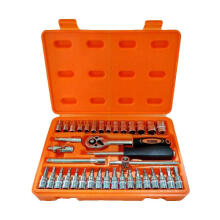 KENMASTER Premium Professional Socket Wrench Set Kunci Sok [38 pcs]