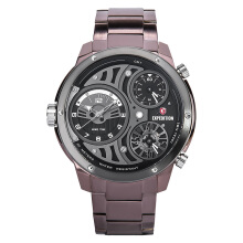 Expedition Man Set Black Dial Stainless Steel [EXF-6742-MTBTBNBA] Maroon