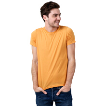 STYLEBASICS Men's Round Neck Basic T-shirt - Orange