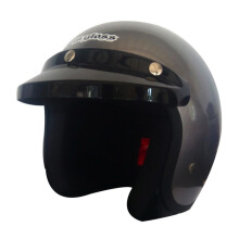 CARGLOSS Retro Helm CF Army - Silver Doff 8
