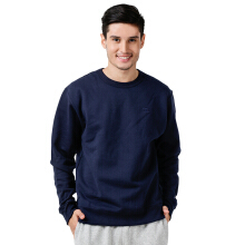 CHAMPION Powerblend Fleece Pullover Crew - Navy