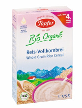 TOPFER Whole Grain Rice Cereal 175 gr