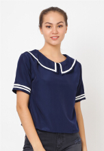 Shop at Banana Ponka Top 23 Blue All Size