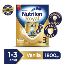 NUTRILON Royal 3 Susu Vanilla Box - 1800gr