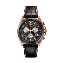 Moment Watch Guy Laroche GLA5069LD-02 Jam Tangan pria - Leather Strap - black Black