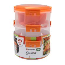 TECHNOPLAST Genio Round Sealware Stackable M3 Orange