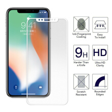 Sentum iPhone X 3D Full Tempered film Apple Anti Purple light Carbon Fiber Screen Protector Glass