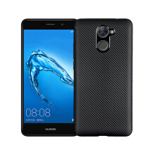 Smatton HUAWEI Y7/Y7 Prime Case Carbon Fiber Cover For Luxury Soft Ultra Thin Case