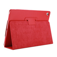 Keymao Apple iPad Pro 9.7 Case Matte Soft Flip Litchi PU Leather