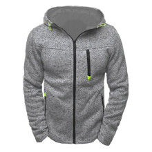 BESSKY Men's Hoody Zipper Slim Hoodies Sweatshirts Pullover Coat Jacket _