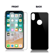 Keymao iPhone X Front and Back Tempered Glass Screen Protector 2.5D 9H Hard