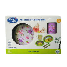 BABY SAFE Mealtime Collection - Purple